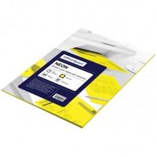 Бумага для принтера А4 цветная 80г/ 50л neon желтый Офис-спейс 225436