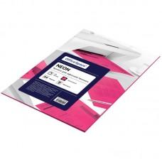 Бумага для принтера А4 цветная 80г/ 50л neon малиновый Офис-спейс 245195