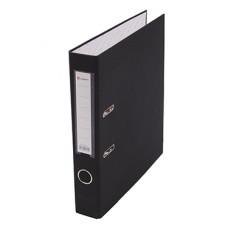 Папка-регистратор А4 50мм ПВХ цвет черный карман на корешке+метал.окантовка Lamark AF0601-BK1