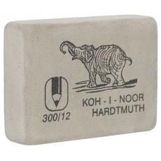 Ластик Koh-i-Noor Слон 300/12 белый гигант (Чехия) для карандашей