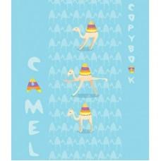 Тетрадь 40л Апплика Веселые верблюды, мел.картон С6046-09 блок высокого качества