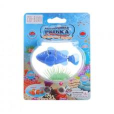 Аквариумная рыбка на батарейках на блистере 8*2*3,6см ZYB-B1030 Б61474