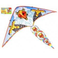 Воздушный змей ОРЕЛ большие лапы +леска 50*110 в пакете 325411