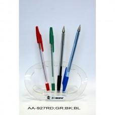 Ручка шар. BEIFA AA-927-GR зеленая c метал.наконечником Оригинал