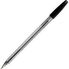 Ручка шар. BEIFA AA-927-BK черная с метал.наконечником Оригинал