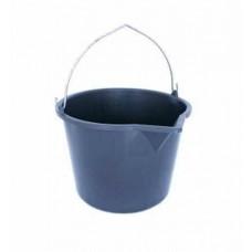 Ведро пластик  5л строительное Мультипласт с носиком мерное ш/к960300