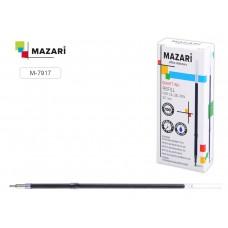 Стержень шар. 107мм синий 0,7мм с ушками игольчатый, масляный Smart Ink Mazari M-7917