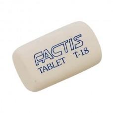 Ластик FACTIS Т-18 цилиндрический мягкий 45*28*12мм синтетический каучук (Испания)