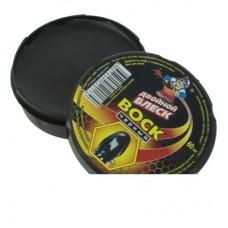 Воск для обуви черный Двойной блеск 60мл ш/к520174