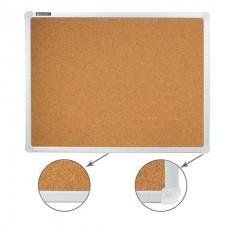 Доска пробковая 45*60см настенная Brauberg 231711 алюминиевая рамка
