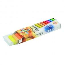 Пластилин 10цв. Koh-I-Noor 200гр карт/коробка 131710 (Чехия) БАБОЧКА