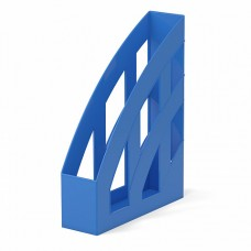 Лоток вертикальный 75мм синий Office ErichKrause 53242
