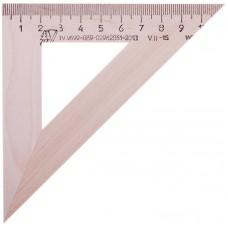 Треугольник дерево 11см/45гр Красная звезда С138
