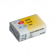 Краска акварель художественная Белые Ночи кювет 2,5мл Желтая ЗХК 1911211