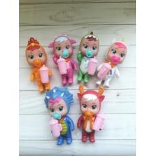 Кукла 12см Cry babies плачущий малыш 3359-407