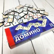 Домино пластик 28 фишек в коробке Играем вместе B1535743-R