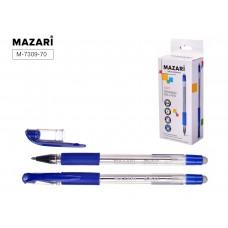 Ручка пишет-стирает шариковая Mazari EDIT синяя 0.7мм M-7309-70