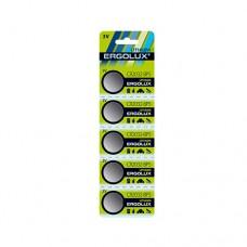 Батарейка 2032CR Ergolux Lithium блистер/5