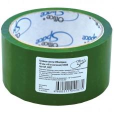 Скотч цветной 48мм/40м зеленый Офис-спейс ШК КЛ_6287/63641