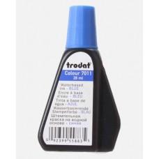Краска штемпельная TRODAT 28мл синяя 7011/с 52973