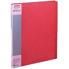 Папка 20файлов красная 0,7мм Berlingo Diamond корешок 14мм AVp_20003