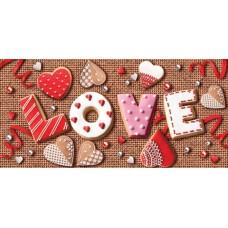 Открытка-конверт Love 2-16-14014А