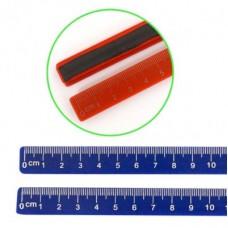 Линейка-магнит для доски 19см (цена за 1шт) J.Otten 9223