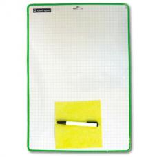 Доска для письма маркером А3 Centropen с маркером (34*48см) Чехия 7789
