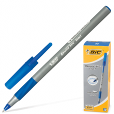 Ручка шар. Bic Round Stic Exact синяя 0,7мм серый корпус 918543