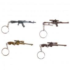 Брелок металл Оружие 8см 119,28 Кбр292