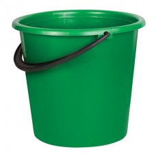 Ведро пластик 10л хозяйственное усиленное, мерная шкала, без крышки ассорти ЛАЙМА