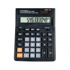 Калькулятор настольный 12-разрядов Citizen SDC-444S черный бухгалтерский SDC-444S