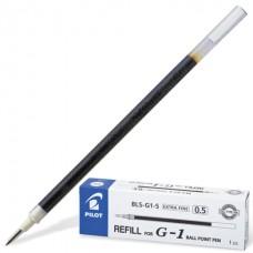 Стержень гель 129мм черный 0,5мм Pilot G-1 BLS-G1-5-В