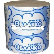 Бумага туалетная 82мм*35м БУМАЖНОЕ ОБЛАЧКО (ИБК) ш/к910278