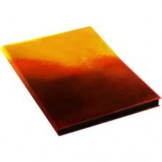 Ежедневник А5 недат. 136л интегр пластик Хамелеон Оранжевый, черный срез ЕКХ51813601