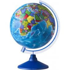 Глобус 250мм политический на голубой подставке Ке012500187