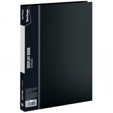 Папка 30 файлов черная 0,60мм Standard Berlingo MT2434
