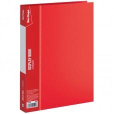 Папка 40 файлов красная 0,60мм Standard Berlingo MT2436