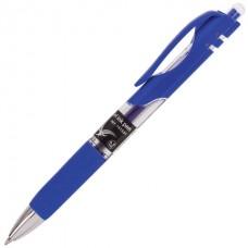 Ручка гель автомат синяя Brauberg Black Jack 141551