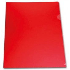 Папка-уголок А4 0,18мм цвет красный Lamark LF0060-RD