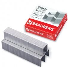 Скобы для степлера №23/17 (до 120л) (1000скоб) Brauberg 221164