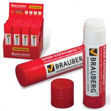 Клей-карандаш Brauberg 25гр PVP-основа 220871