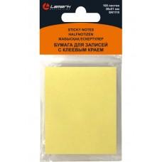 Блок самоклеящ.38*51мм 100л пастель желтый Lamark SN1110-YL