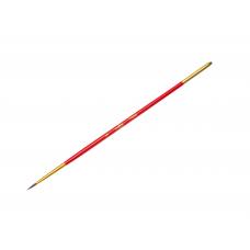 Кисть пони № 1 круглая Гамма 280618.04.01 красная ручка